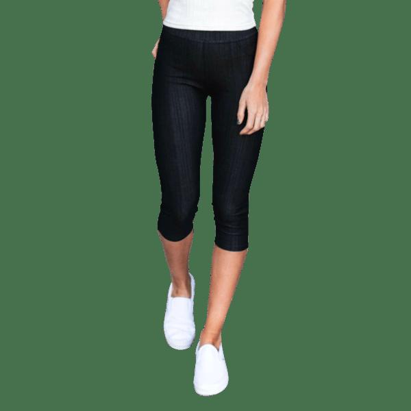 Stretchy Capri Jeans - Plus