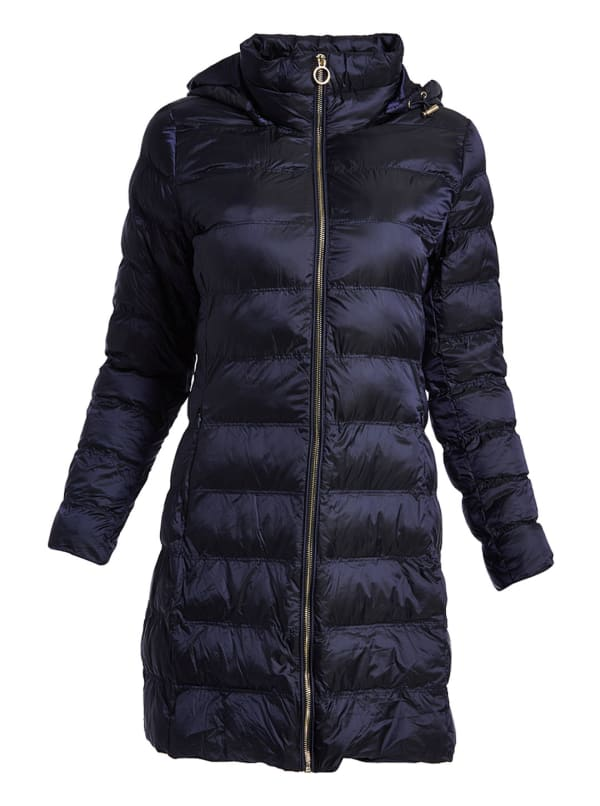 MK Quilted Puffer Down Jacket