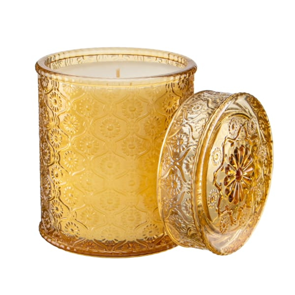 Pier 1 Apple Cider Luxe Filled Candle 19oz