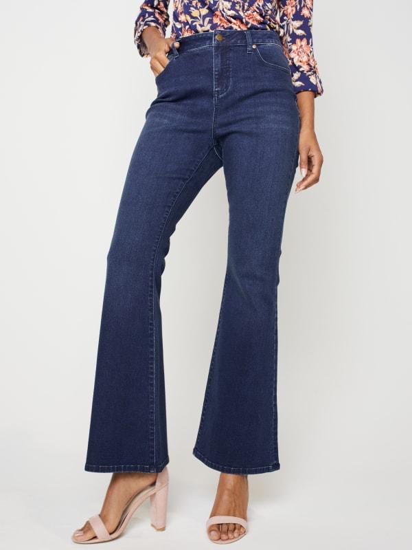 Westport Signature 5 Pocket High Rise Modern Flare Leg Jean