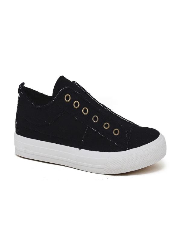 Low Top Slip On Sneakers