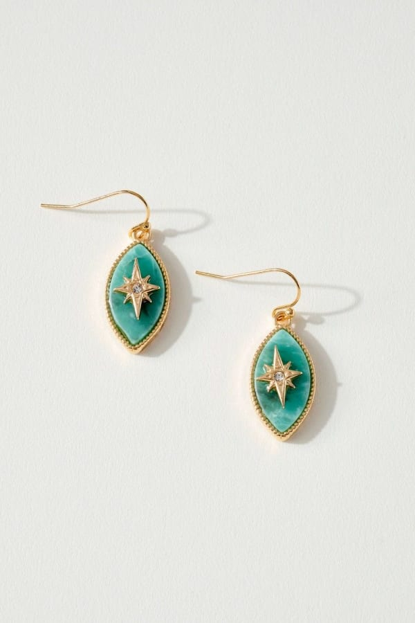Northern Star Marquise Stone Earrings