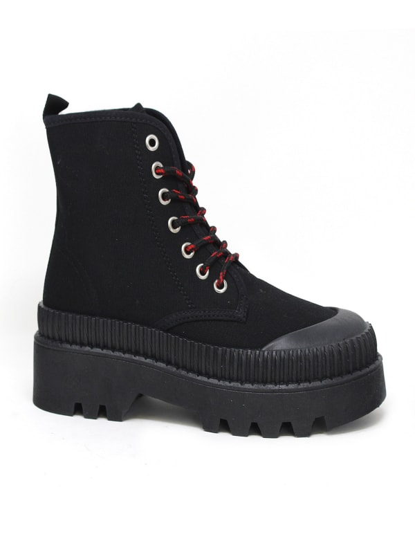 High Top Lace Up Walking Sneaker
