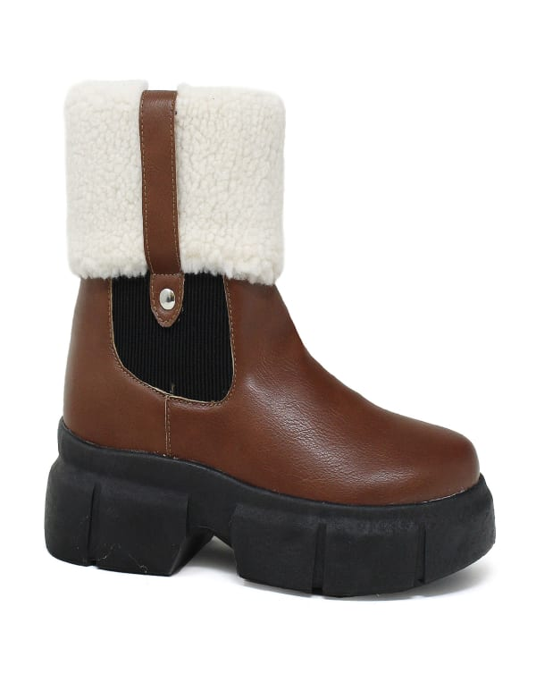 Sydney Winter With Furry Collar Boot