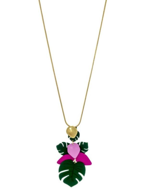 Carol Dauplaise Long Tassel Necklace