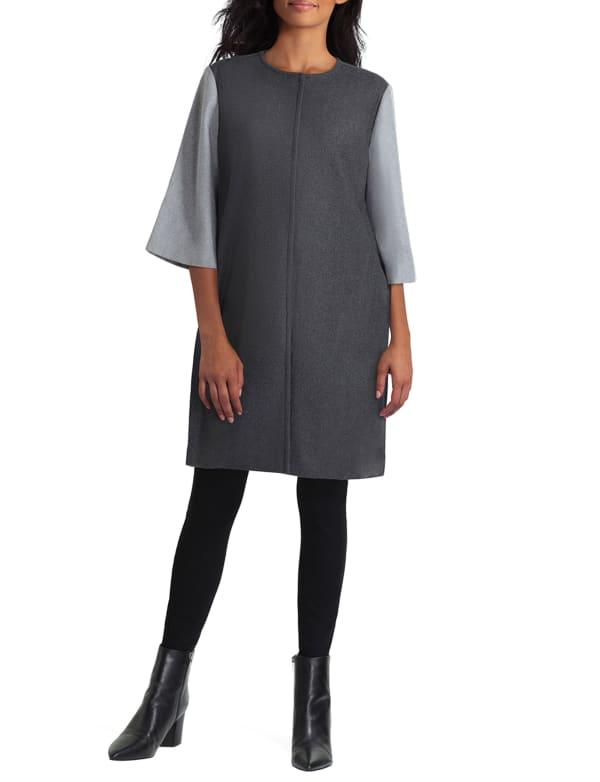 Isaac Mizrahi A-Line Coat