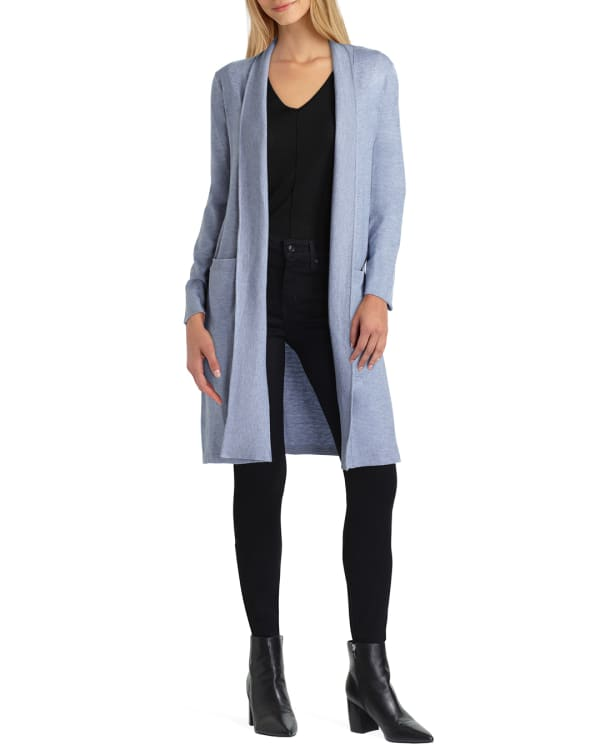 Isaac Mizrahi Long Sleeve Sweater Cardigan