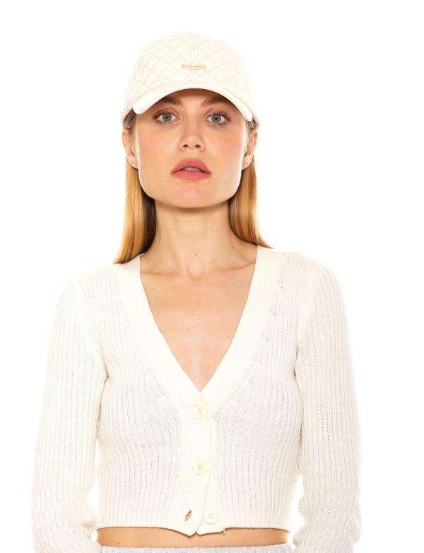 Samantha Pleather Baseball Hat