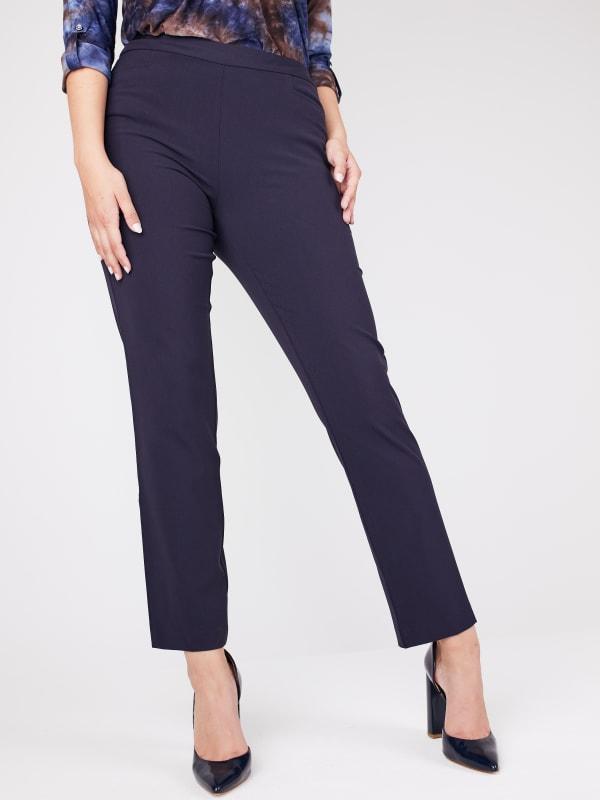 Roz & Ali Secret Agent L Pockets Pants - Average Length