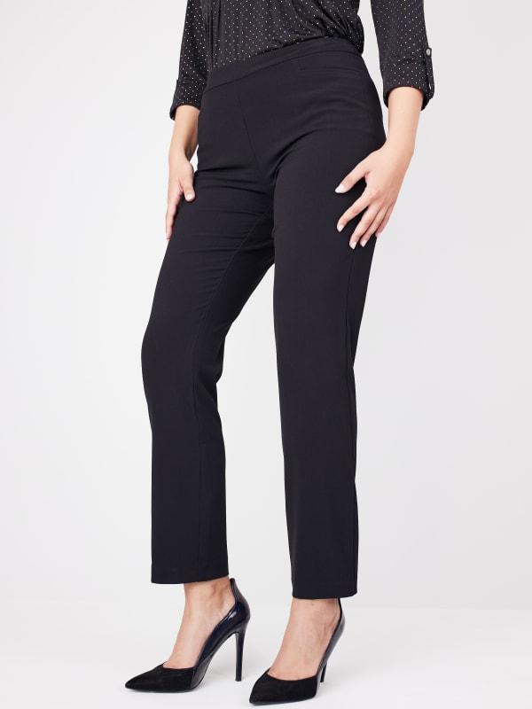 Roz & Ali Secret Agent L Pockets Pants - Petite