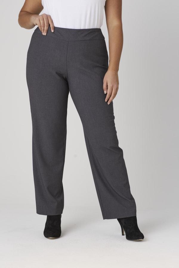 Roz & Ali Secret Agent Tummy Control Pants - Short Length - Plus