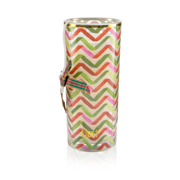 Pier 1 Peppermint Party Filled Charm Jar Candle 6oz