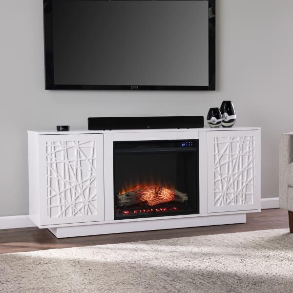 Hibdon Electric Fireplace Media Console