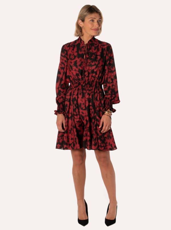 Taylor Blurred Floral Dress
