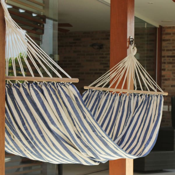 Ceara Parallels Cotton Hammock With Spreader Bars