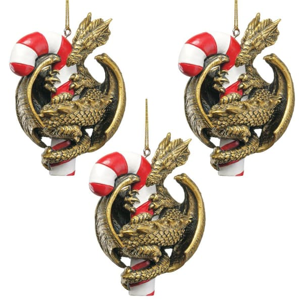 Sweet Tooth Dragon Ornament