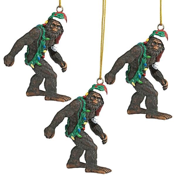 Bigfoot the Holiday Ornament