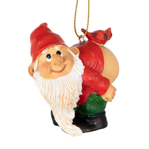 Loonie Moonie Gnome Holiday Ornament