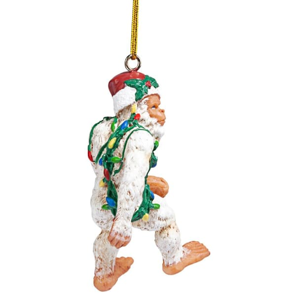 Bigfoot the Abominable Snowman Yeti Holiday Ornament