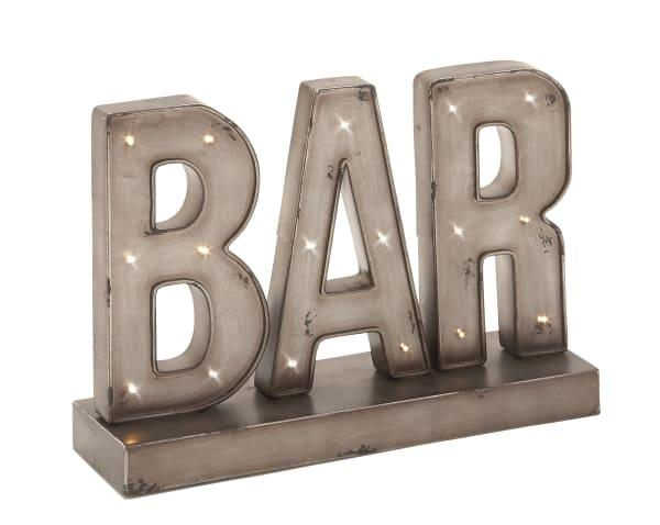 Brown Tin Industrial Decorative Sign