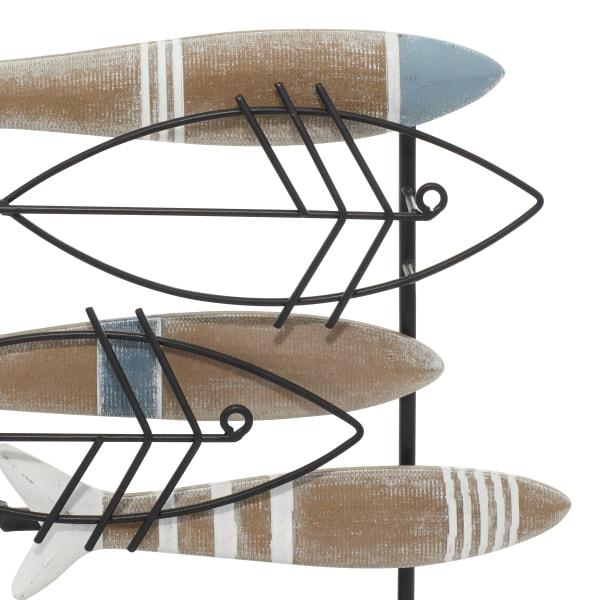 Brown Wood Coastal Sculpture