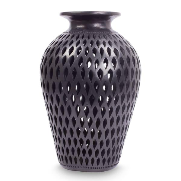 Novica Night Rain Decorative Ceramic Vase