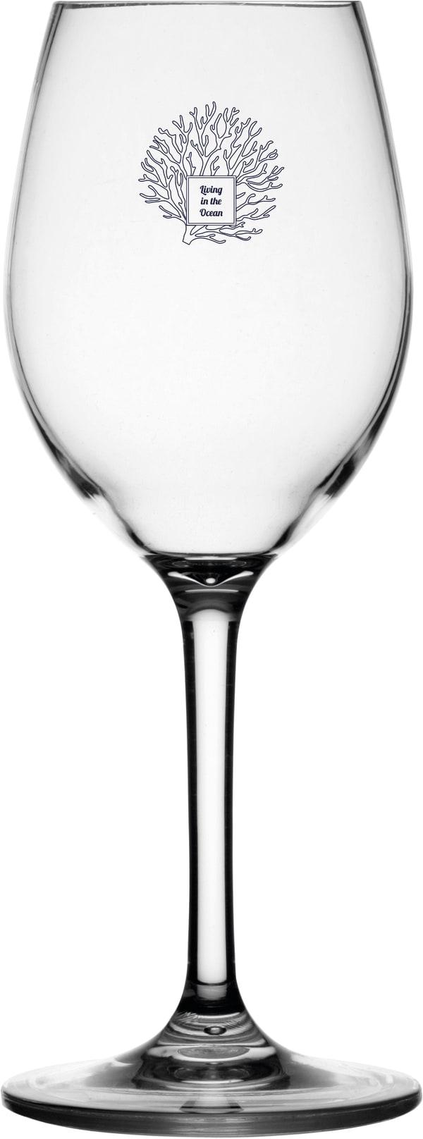 Living Non-Slip Set of 6 Wine Glasses