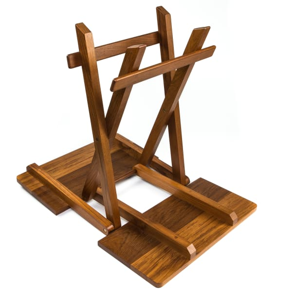 Solid Teak Fold-Away Table