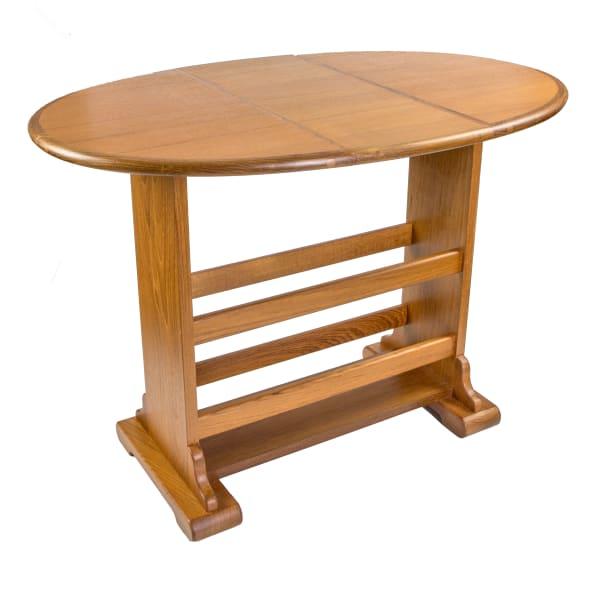 Large Teak Drop-Leaf Table