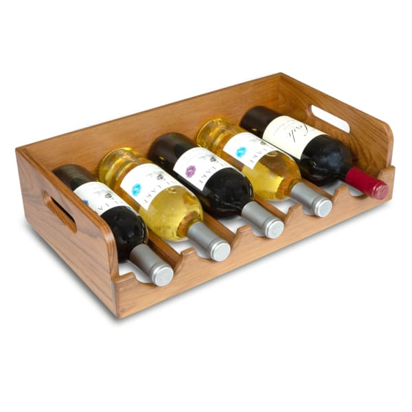 Teak Wine Holder or Tray