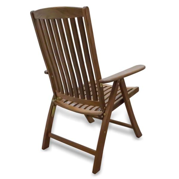 Teak Reclining Arm Chair