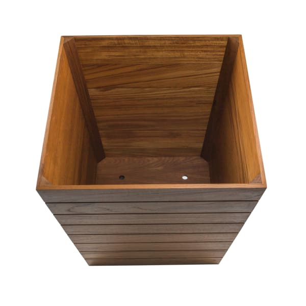 Large Teak Planter Box