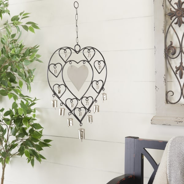 Silver Metal Eclectic Windchime