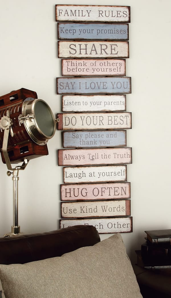 Farmhouse Motivational Wood Wall Decor