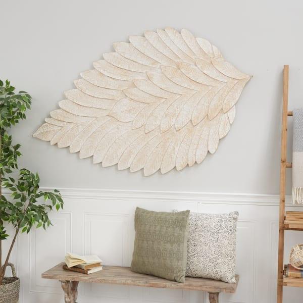 Contemporary Cream Wall Decor