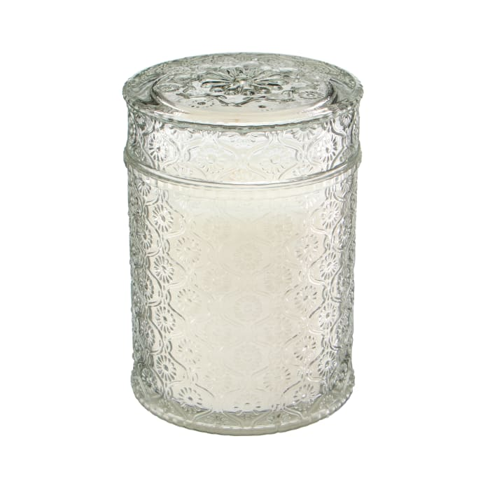 Pier 1 Rustic Woodlands Luxe Filled Candle 19oz
