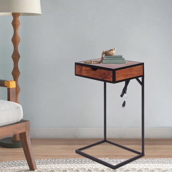 Tech C-Table with Drawer