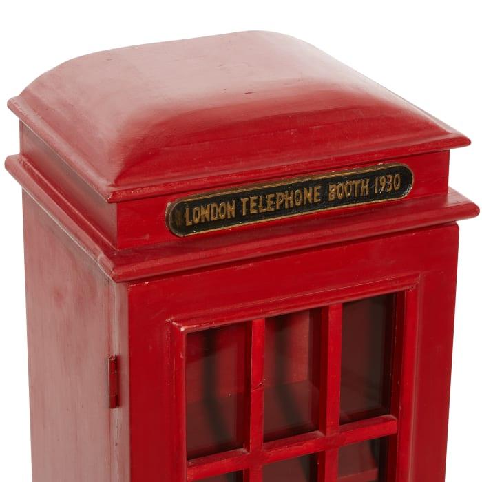 Red Wood Vintage CD Holder
