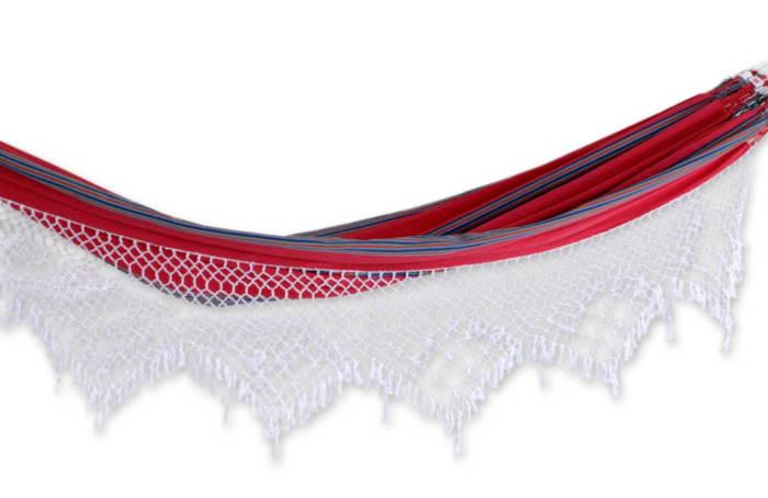 Scarlet Samba Cotton Hammock