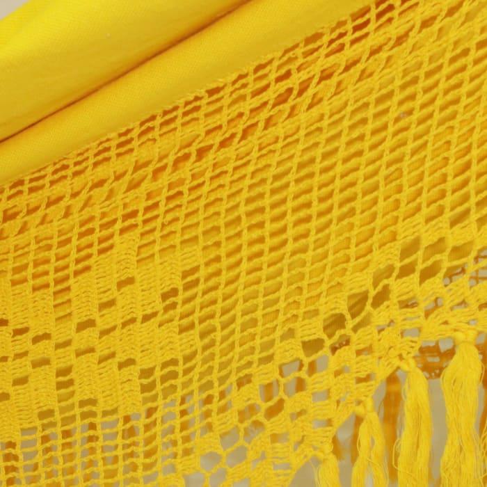 Tropical Yellow Cotton Hammock