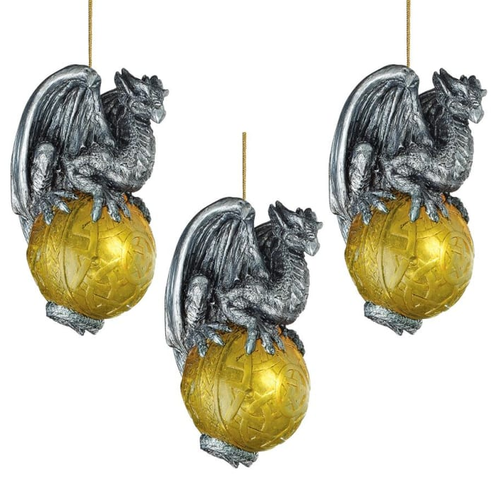 Celtic Dragon 2010 Ornament