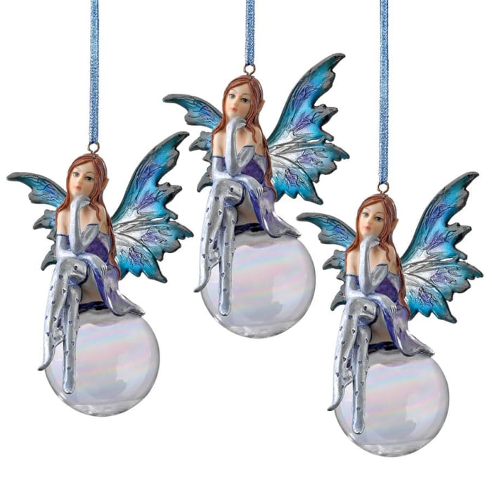 Snow Fairy Goddess Ornament