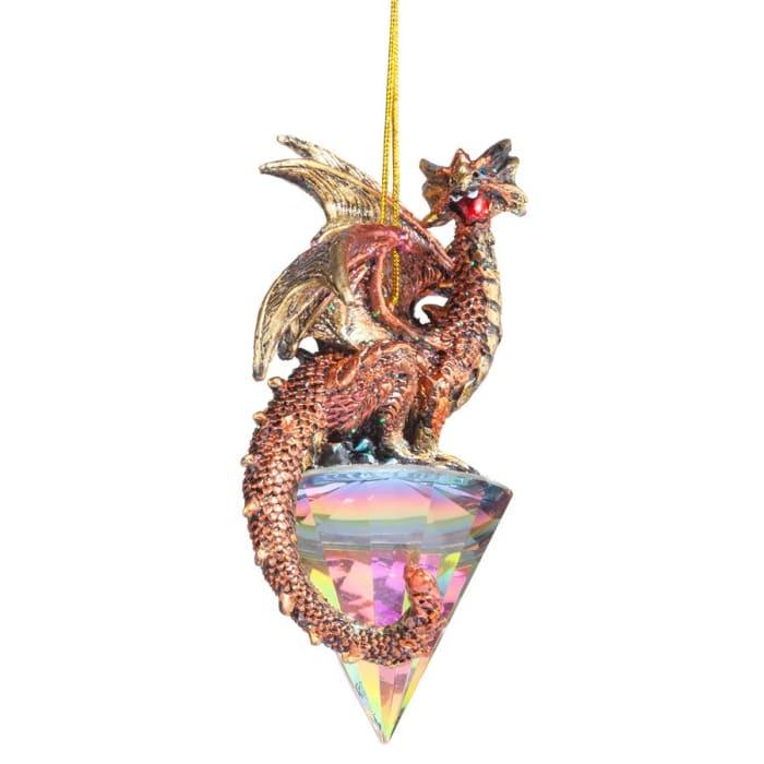 Diamond Dragon Ornament