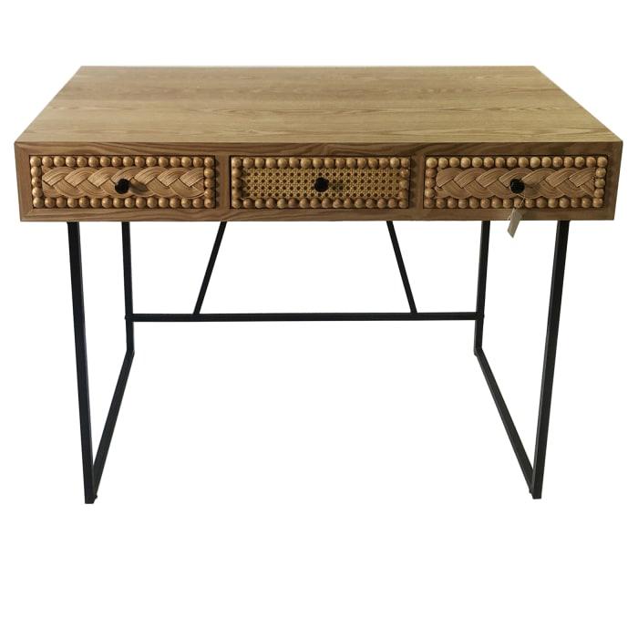 Balin Boho Wooden Desk