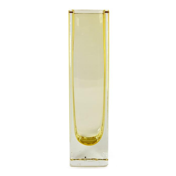 Novica Radiance In Sunshine Handblown Art Glass Vase