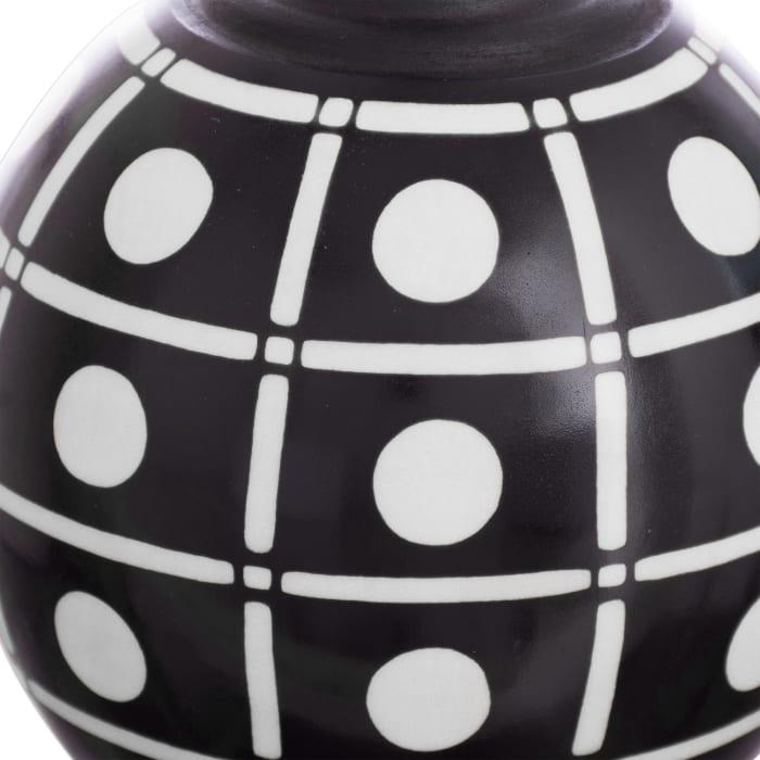 Novica Chulucanas Squares Ceramic Decorative Vase