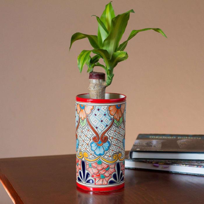 Novica Garden Dreams Ceramic Vase