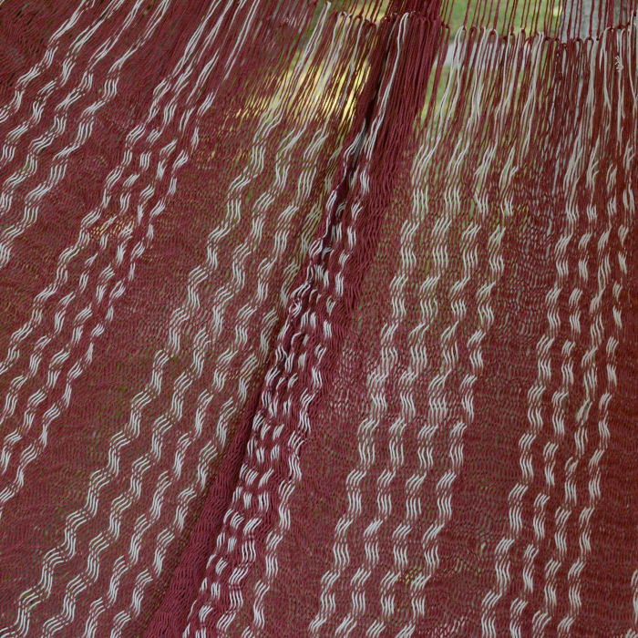 Burgundy Riviera Cotton Hammock