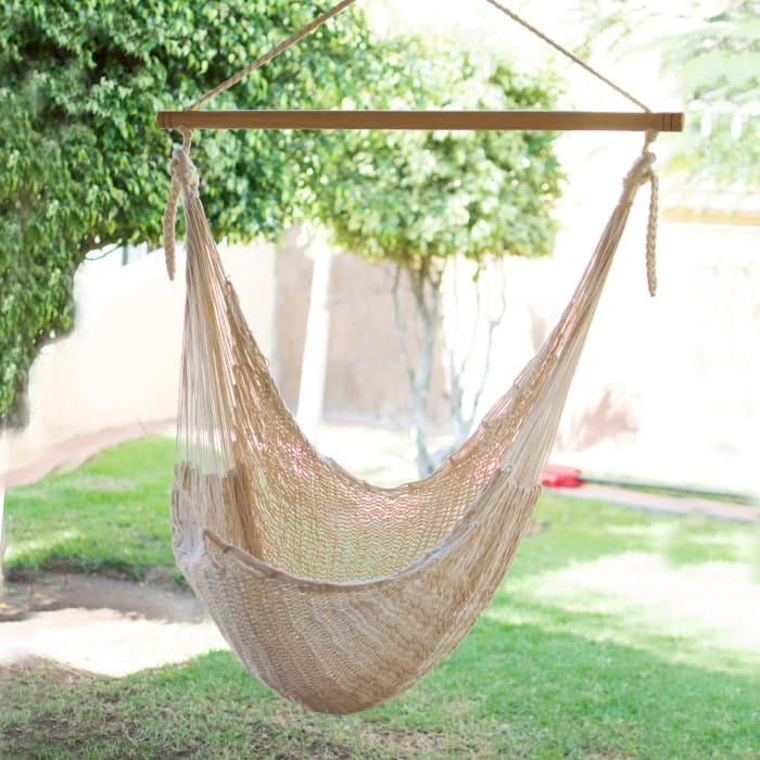 Deserted Beachcotton Hammock Swing