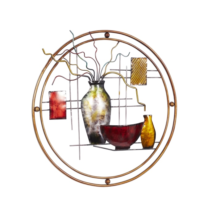 Abstract Oriental Wall Decor